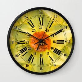 The Power of Petals 2...The Clock! Wall Clock