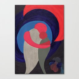 Two in Harmony Canvas Print