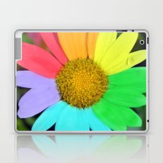 colorful daisy Laptop & iPad Skin