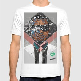 Hip Hop KanyeWest Compilation Minimal Abstract T-shirt