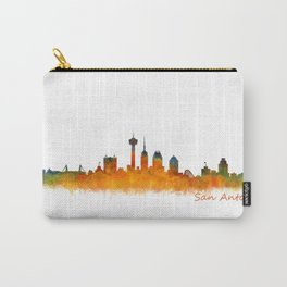 San Antonio City Skyline Hq v2 Carry-All Pouch
