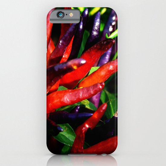 Rainbow Peppers iPhone & iPod Case