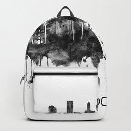 Brooklyn New York Skyline BW Backpack