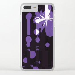 Through the Dark Clear iPhone Case