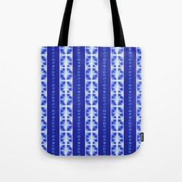 Shibori strips Tote Bag