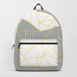 Ab Half and Half Grey Backpack