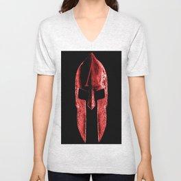 god's helmet Unisex V-Neck