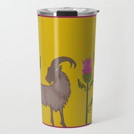 Mountain Goat + Thistle Travel Mug