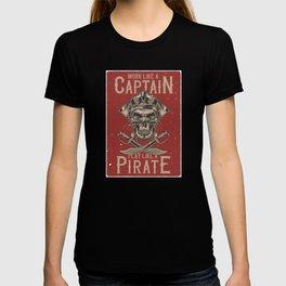Work like a Captain T-shirt