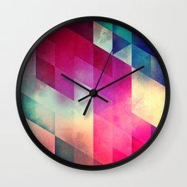 byy byy july Wall Clock