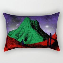 Painting in the Dark Rectangular Pillow