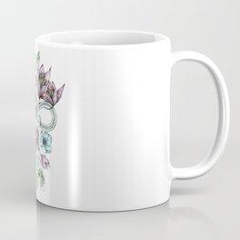 Infinity Moon Garden in Pastel Coffee Mug