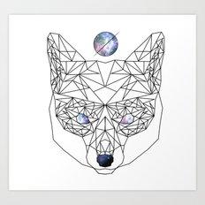 Magic(k) Fox Art Print