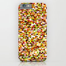Noise pattern - yellow/red Slim Case iPhone 6s
