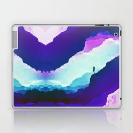 Violet dream of Isolation Laptop & iPad Skin