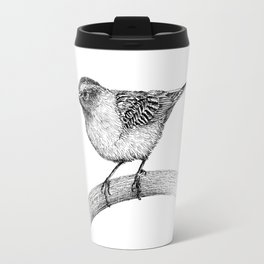 Chipping Sparrow Travel Mug