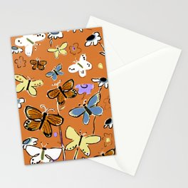 Butterflies Butterflies Stationery Cards