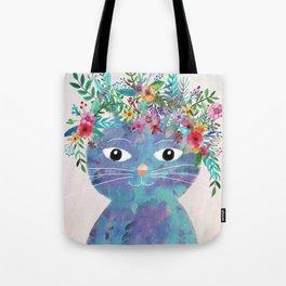 Flower cat II Tote Bag