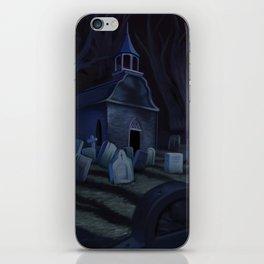 Sleepy Hollow Churchyard Cemetery iPhone Skin
