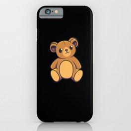 Teddy Bear Kids Shirt iPhone Case