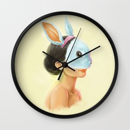 Nueve Wall Clock