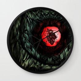 Inner Heart Wall Clock