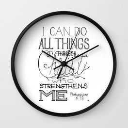 I Can Do Wall Clock