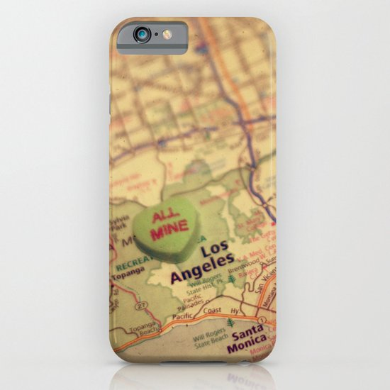 All Mine Los Angeles iPhone & iPod Case