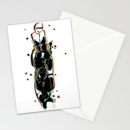 lady one Stationery Cards