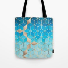 Sea And Sky Cubes (Custom Request) Tote Bag