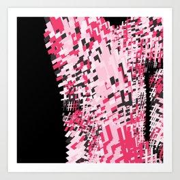 Hashtag pink Art Print