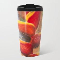 Heliconia Metal Travel Mug