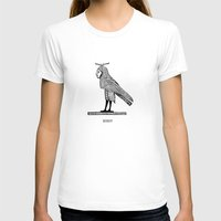 birdy T-shirts featuring Birdy by Orit Kalev