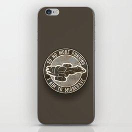 Misbehave Badge V2 iPhone Skin