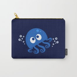 Bubbly Octopus Carry-All Pouch