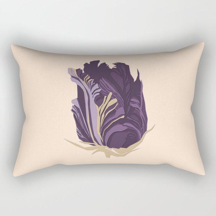 paper flower Rectangular Pillow