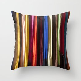 Cover me with Color Throw Pillow