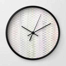 Zic Zac Wall Clock