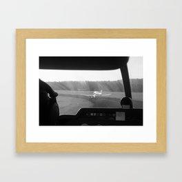 Take-off Framed Art Print