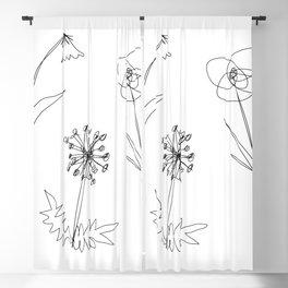 Dainty Blackout Curtain
