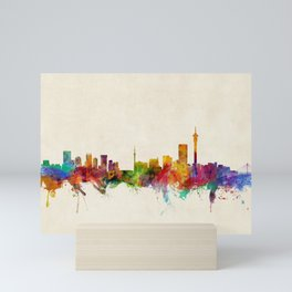 Johannesburg South Africa Skyline Mini Art Print
