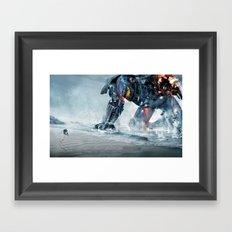 Vectorial Rim #1 Framed Art Print