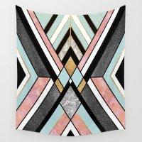geo Wall Tapestries featuring Geo 1 by Elisabeth Fredriksson