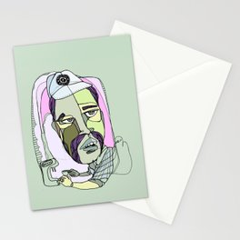 how the hell you want your fucking coffee? Stationery Cards