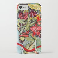 paradise iPhone & iPod Cases featuring Paradise  by Felicia Atanasiu