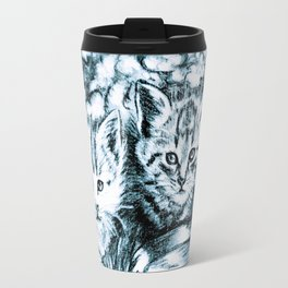 cats babies Travel Mug