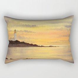 Sunset At Turnberry Scotland Rectangular Pillow