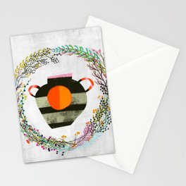 Sun vase Stationery Cards