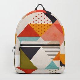 geometry mid century Backpack