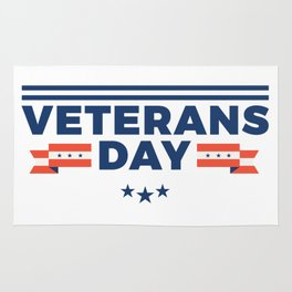 Veterans Day Commemorative Design Rug